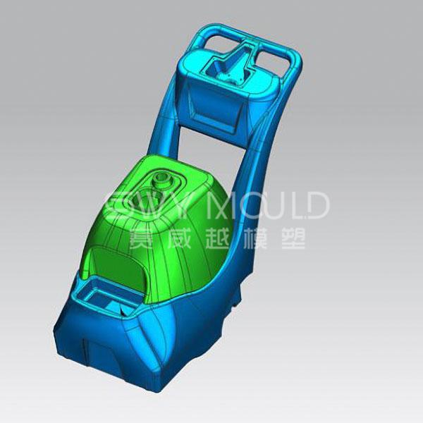 Пресс-форма для пластиковых деталей пылесборника