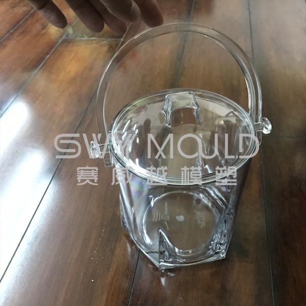 Пластиковая форма для банок с ручкой