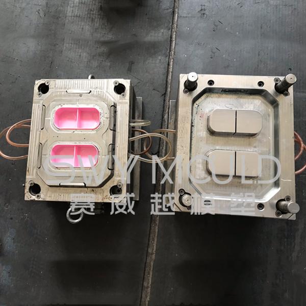 Пластиковая консервационная коробка для литья под давлением
