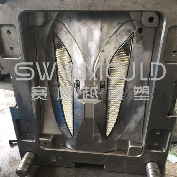 Пластиковая форма для литья под давлением отражателя грузовика