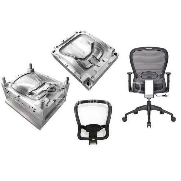 Пластиковый молдинг спинки для офисного стула