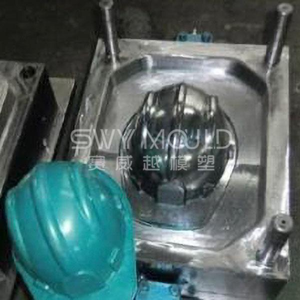 Пластиковая форма для промышленного защитного шлема