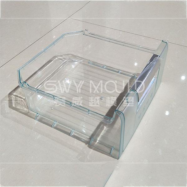 Пластиковая форма для литья под давлением ящика холодильника