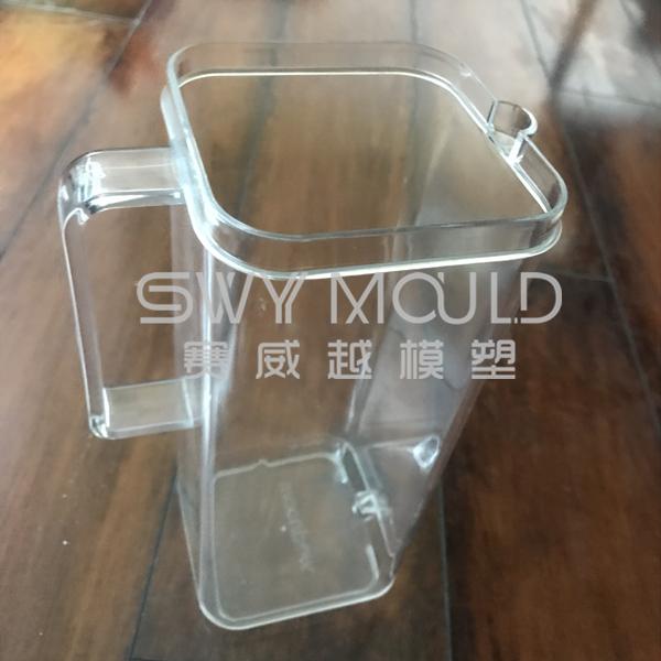 Пластиковая форма для чайника квадратной формы