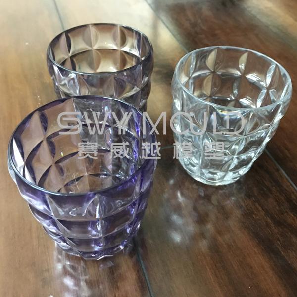 Пластиковая форма чашки ромбовидного типа