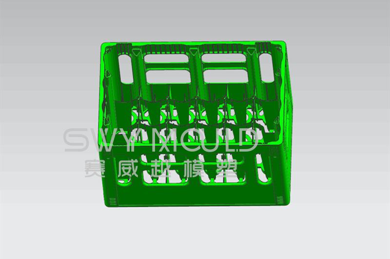 Дизайн пресс-формы для литья под давлением пластиковой корзины